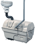 Sun-Mar centrex 2000 series central unit composting toilet